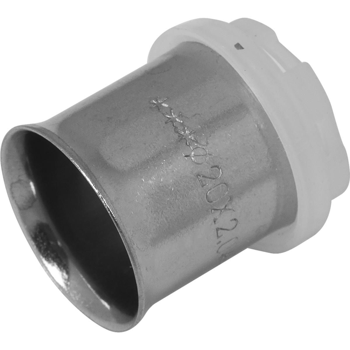 Гильза Valtec для пресс-фитинга 20 мм никелированная латунь
