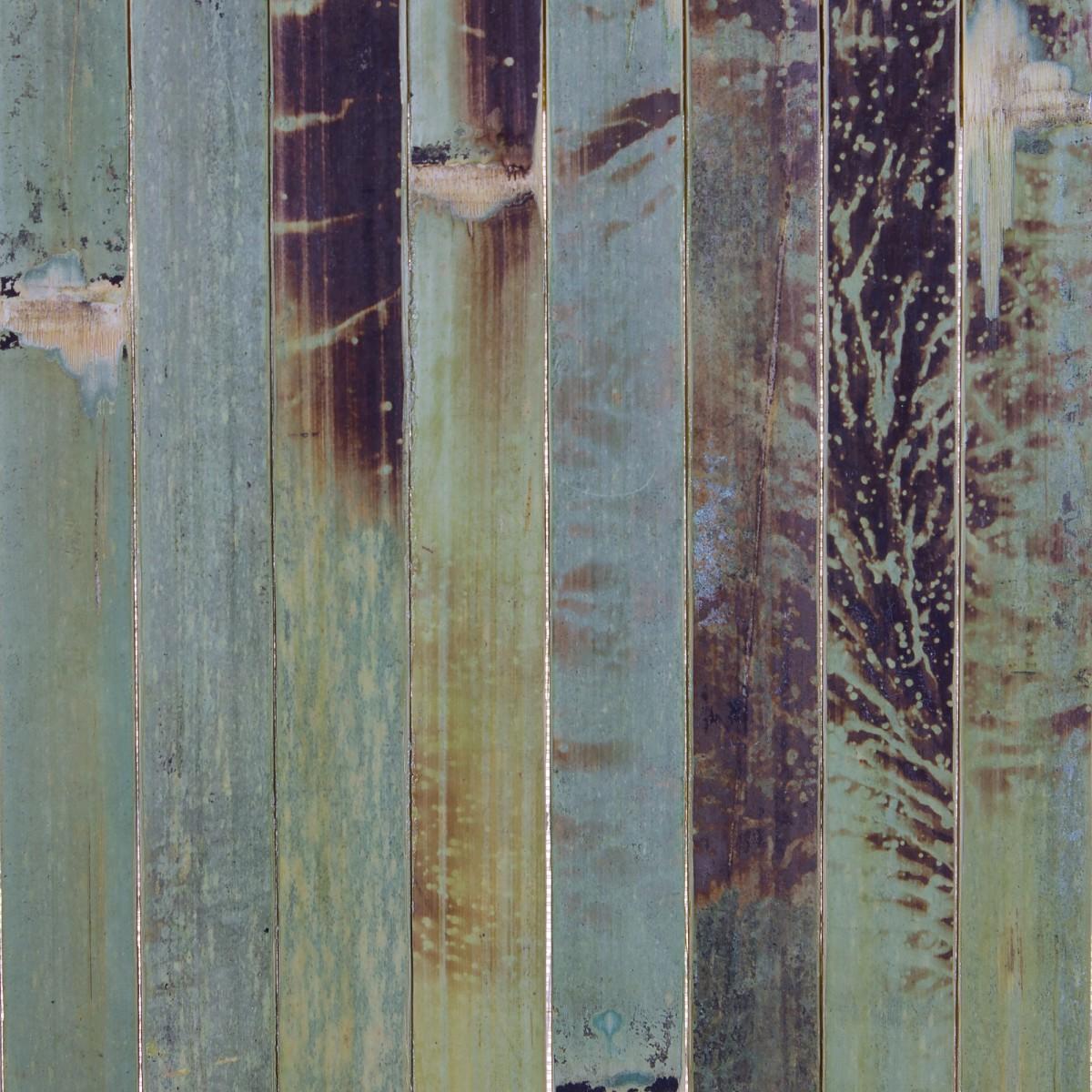 Полотно бамбуковое 17 мм ширина 90 см цвет зелёная черепаха