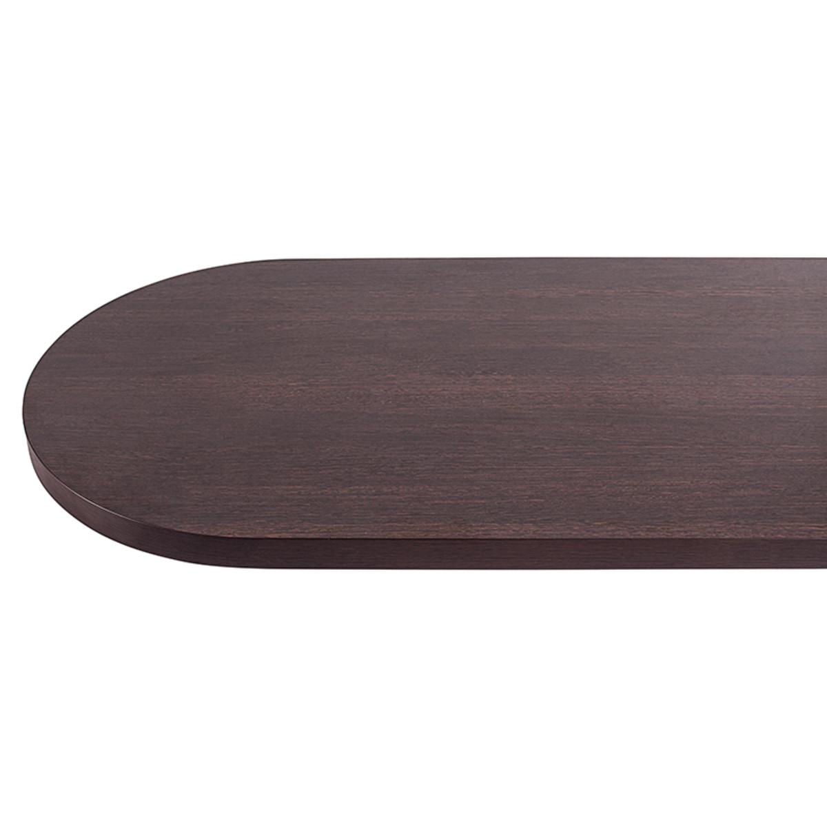 Столешница барная №1 150х3.8х60 см ЛДСП/пластик цвет венге