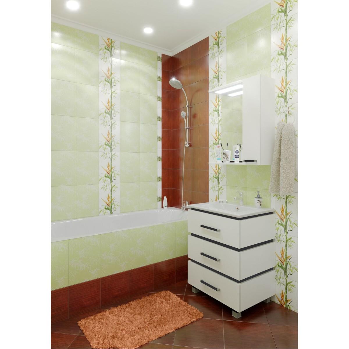 Плитка настенная Wood (WOB301R) цвет бежевый 20x25 см 1 м2