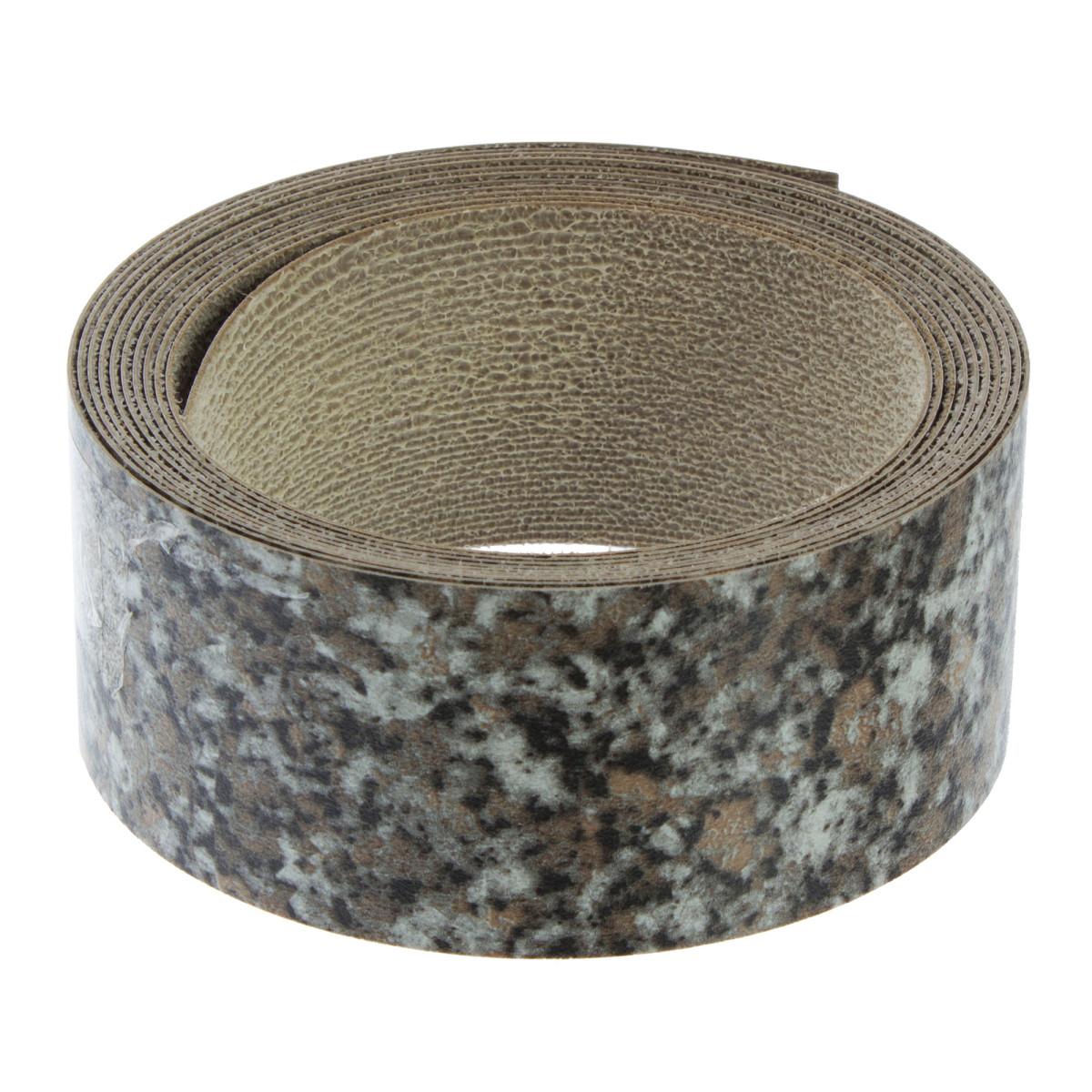 Кромка с клеем для столешницы 45х305 см цвет гранит сардин
