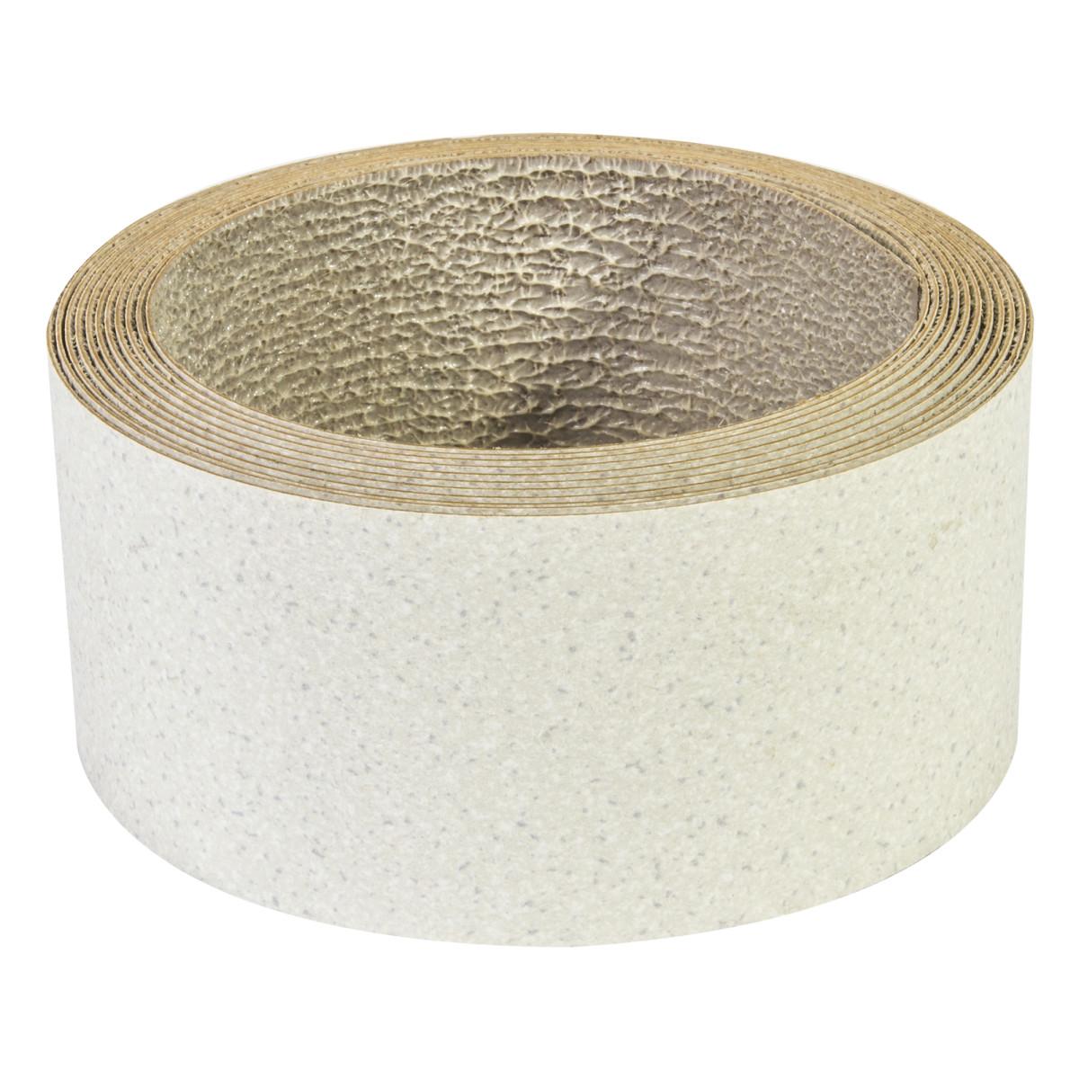 Кромка с клеем для столешницы 45х305 см цвет уника снежная