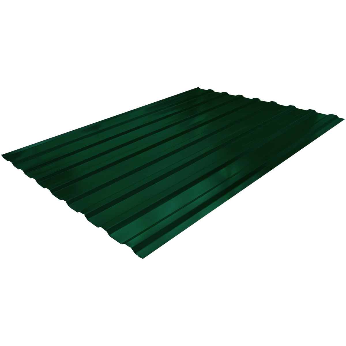 Профнастил С20 зеленый 1.15х2 м 0.3 мм