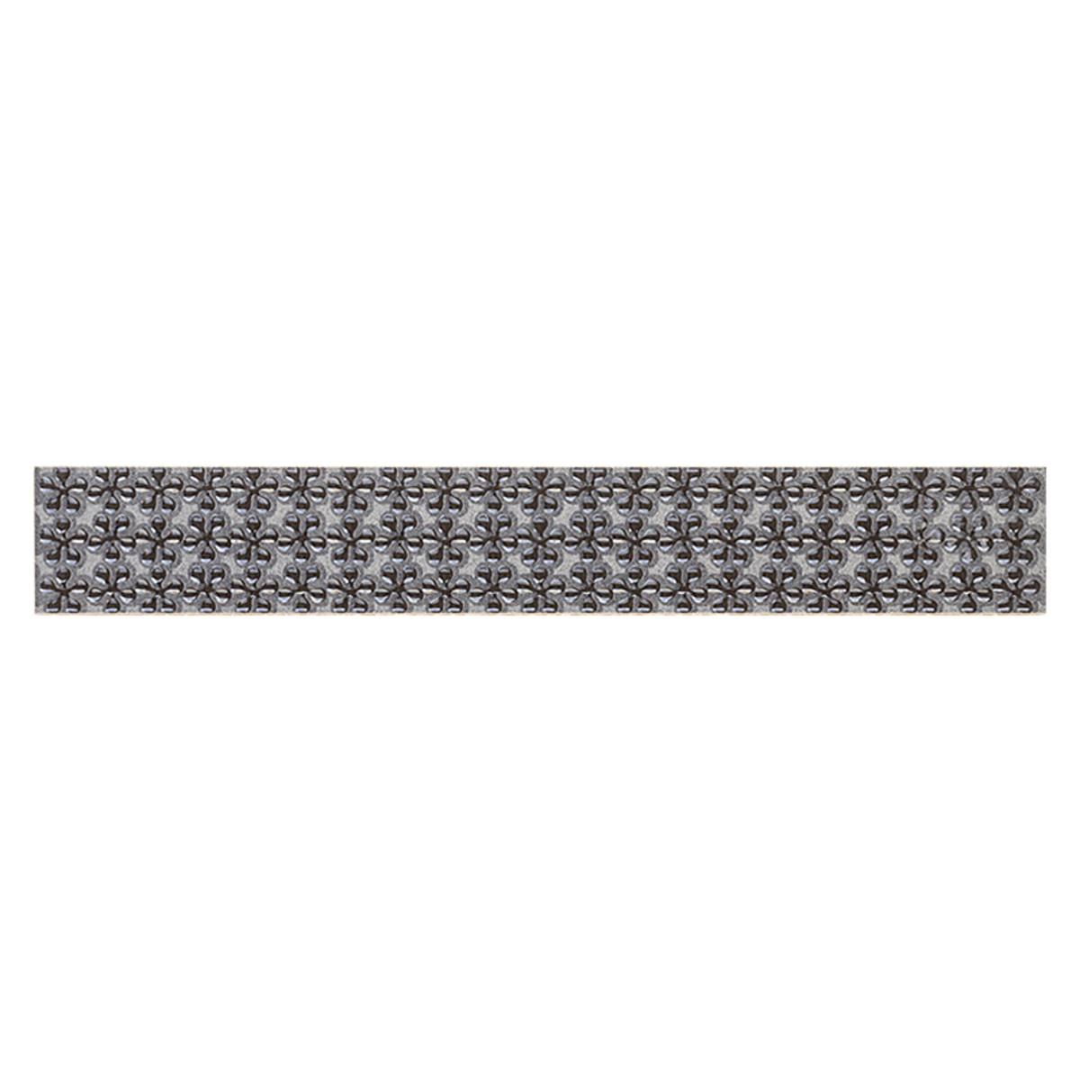 Бордюр FIRLETKA NERO listwa 48х333 см