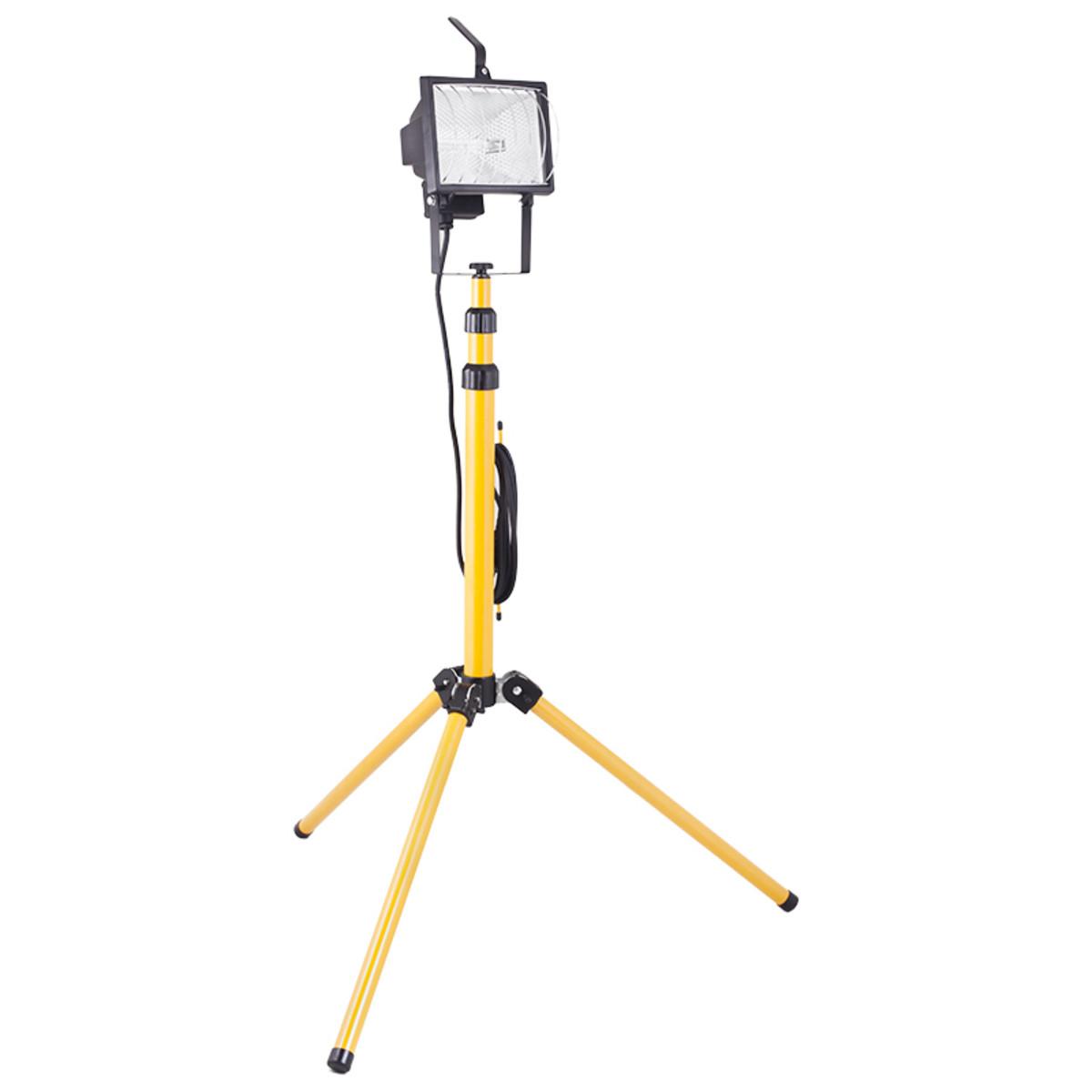 Прожектор на штативе Camelion (до 2м) 500Вт