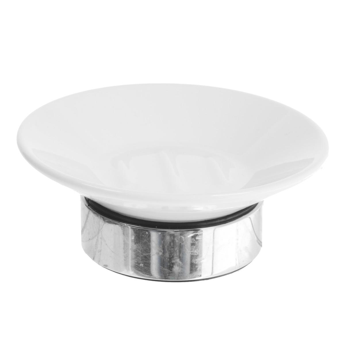 Мыльница настольная Fixen Bogema керамика цвет белый