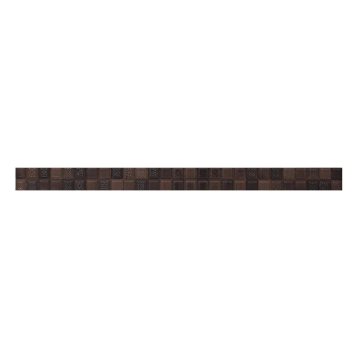 Бордюр Bali цвет коричневый 40х3 см