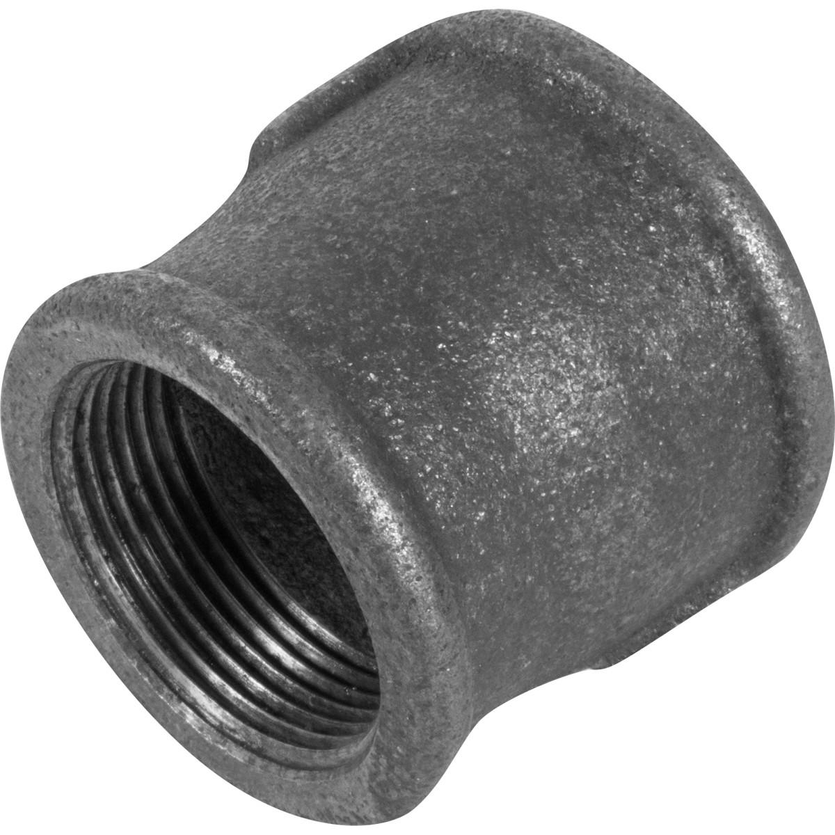 Муфта внутренняя резьба 1 1/4х1 1/2 мм ковкий чугун