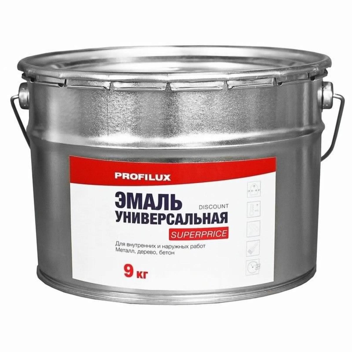 Эмаль универсальная Superprice 9 кг цвет коричневый
