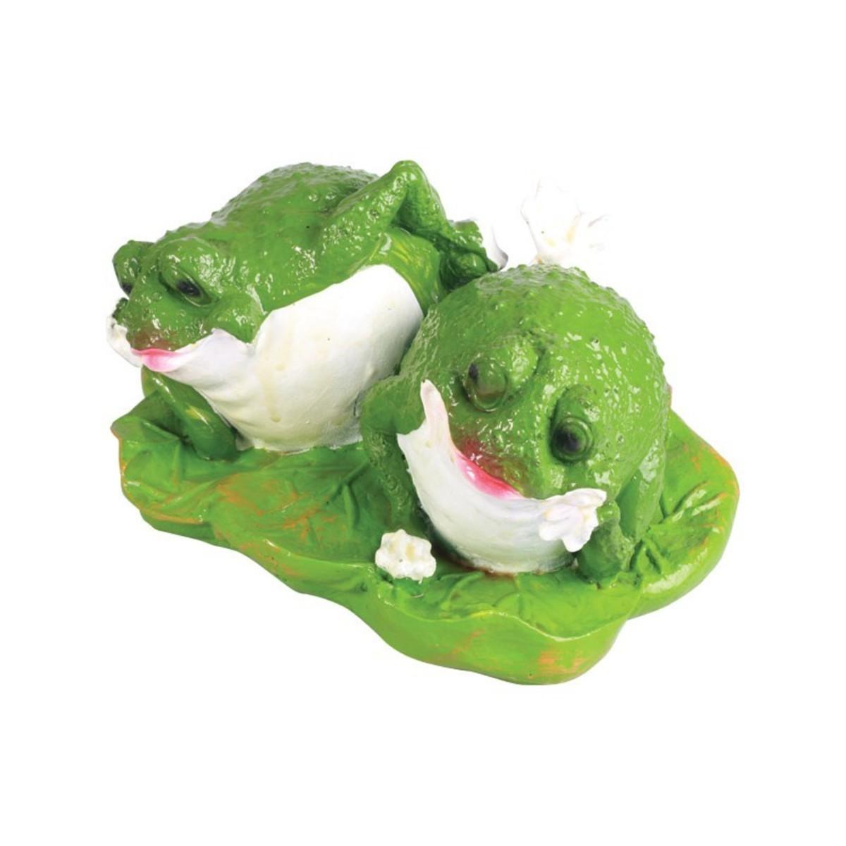 Лягушки на листе