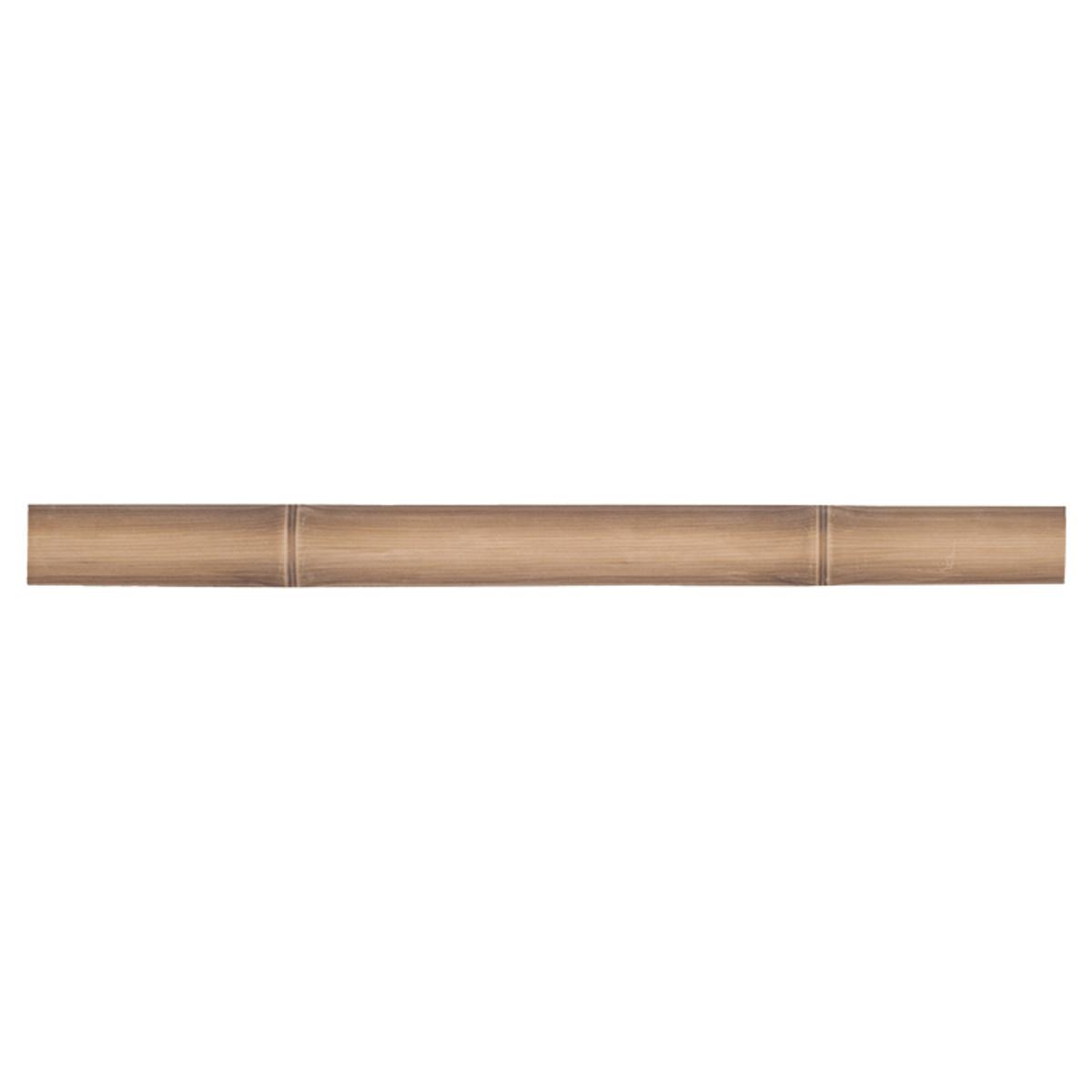 Бордюр Bamboo цвет коричневый 40х3 см