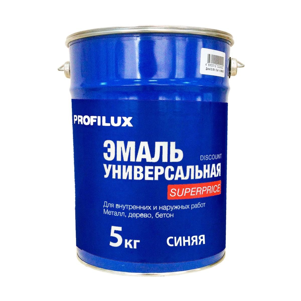 Профилюкс Эмаль Superprice цвет синий 5 кг