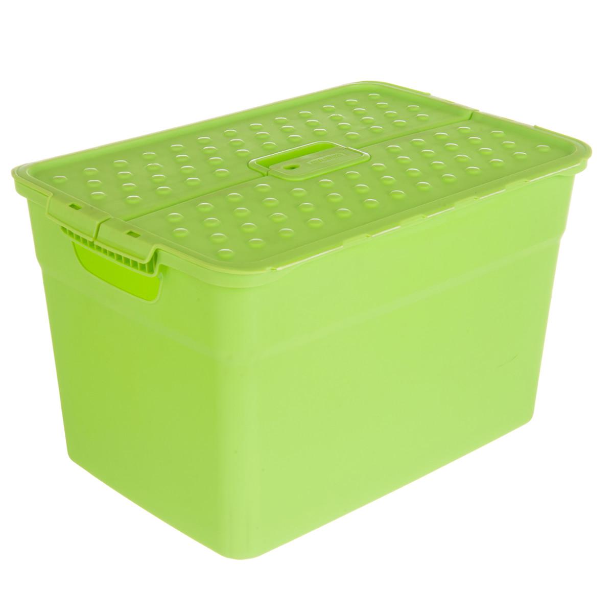 Контейнер Curver Pixxel 12 л пластик цвет зеленый