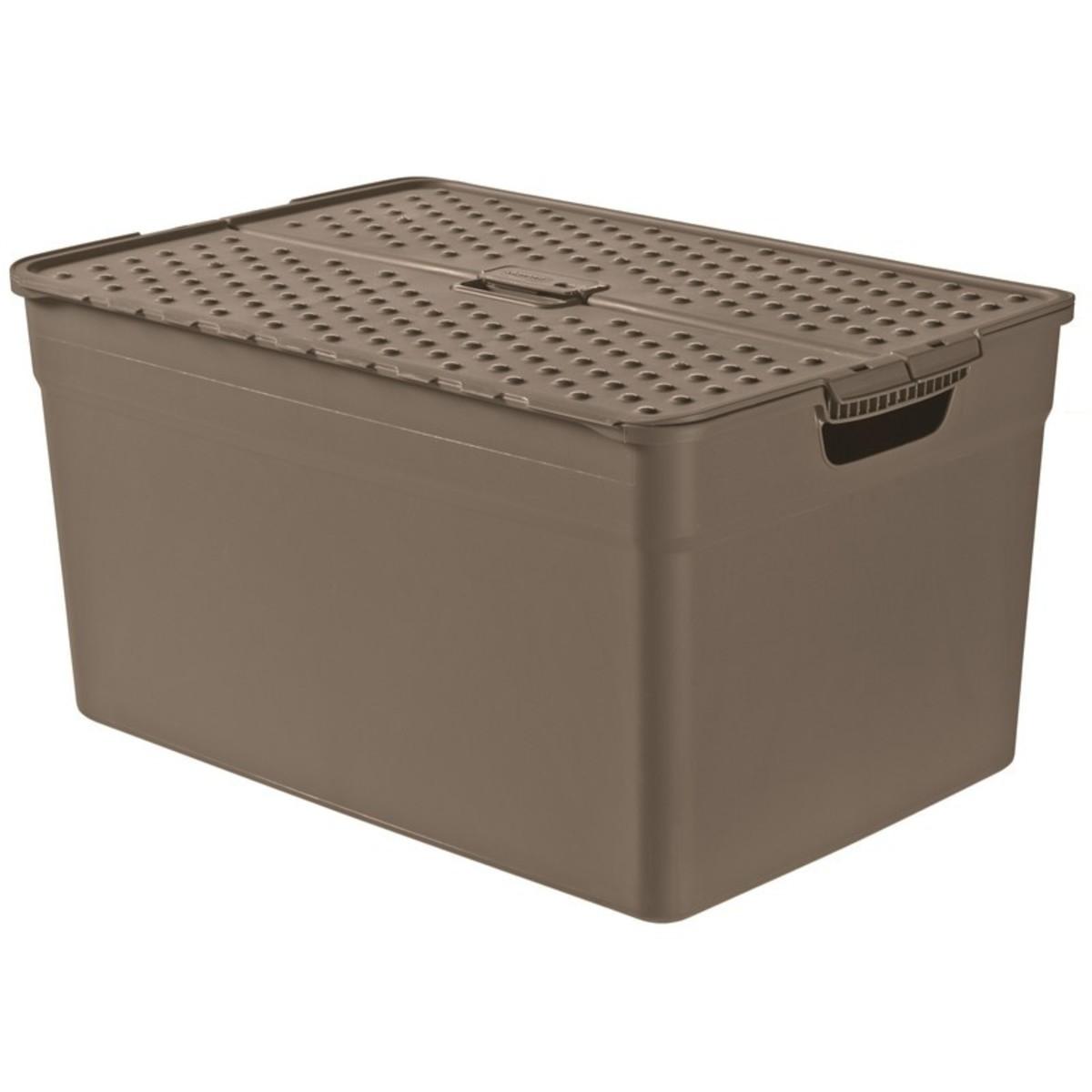 Контейнер Curver Pixxel коричневый 30 л