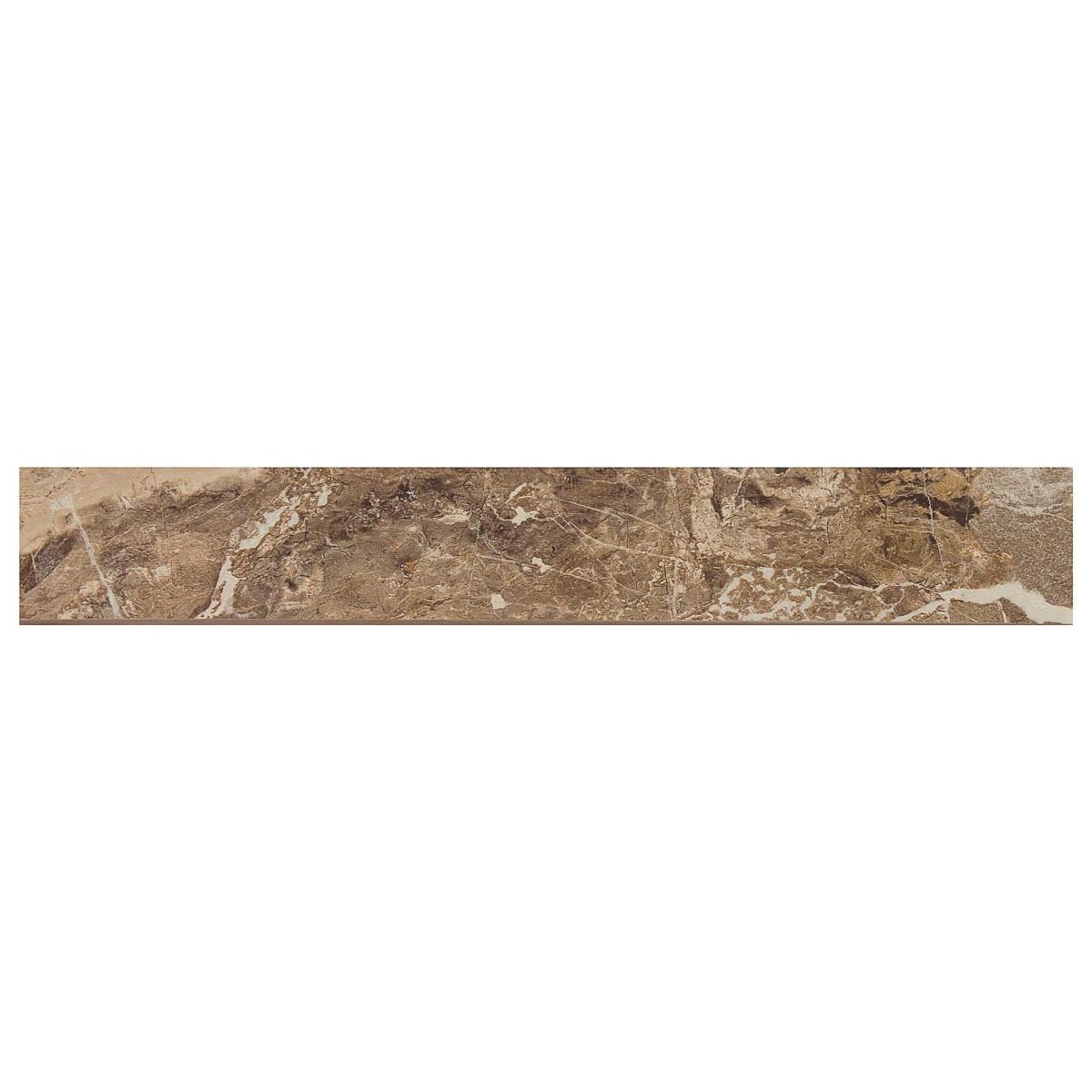 Плинтус Rod Privilege Moka mate 7.2x45 см цвет коричневый