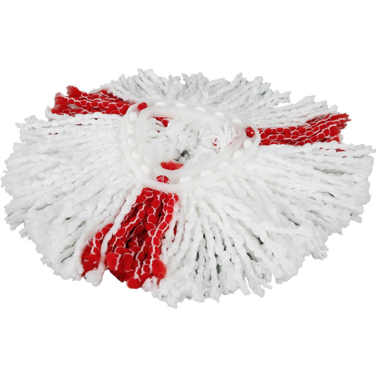Насадка для швабры Легкий отжим Виледа 30 см микрофибра цвет белый