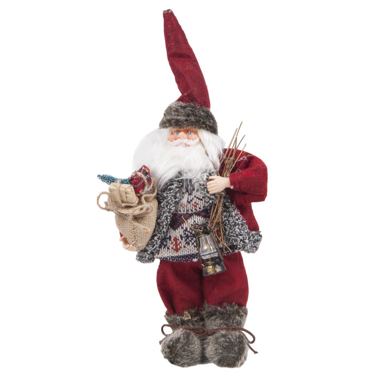 Игрушка мягкая «Санта» 30 см