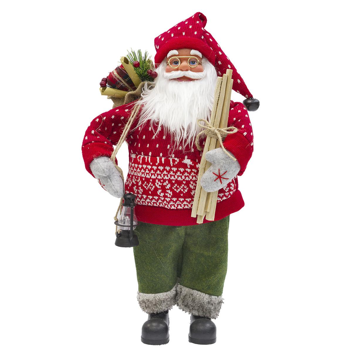 Игрушка мягкая «Санта» 46 см