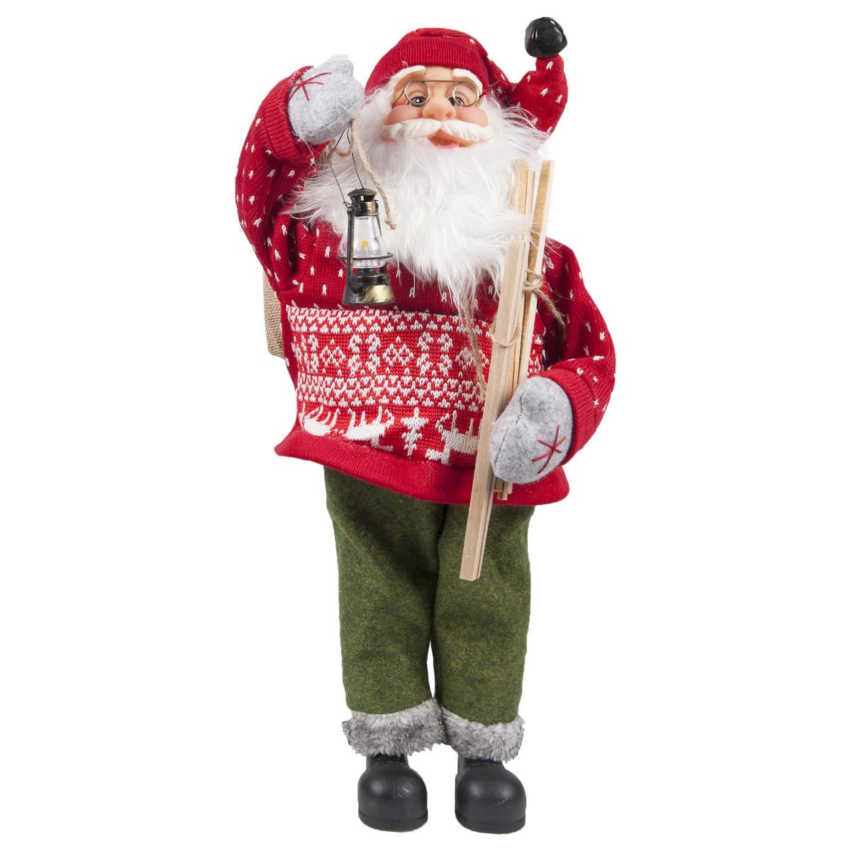 Игрушка мягкая «Санта» 60 см