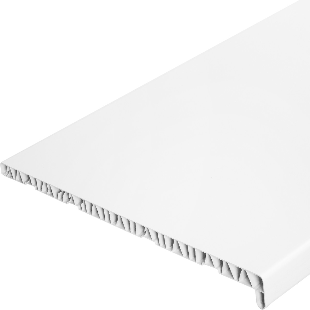 Подоконник ПВХ 500x1500 мм цвет белый