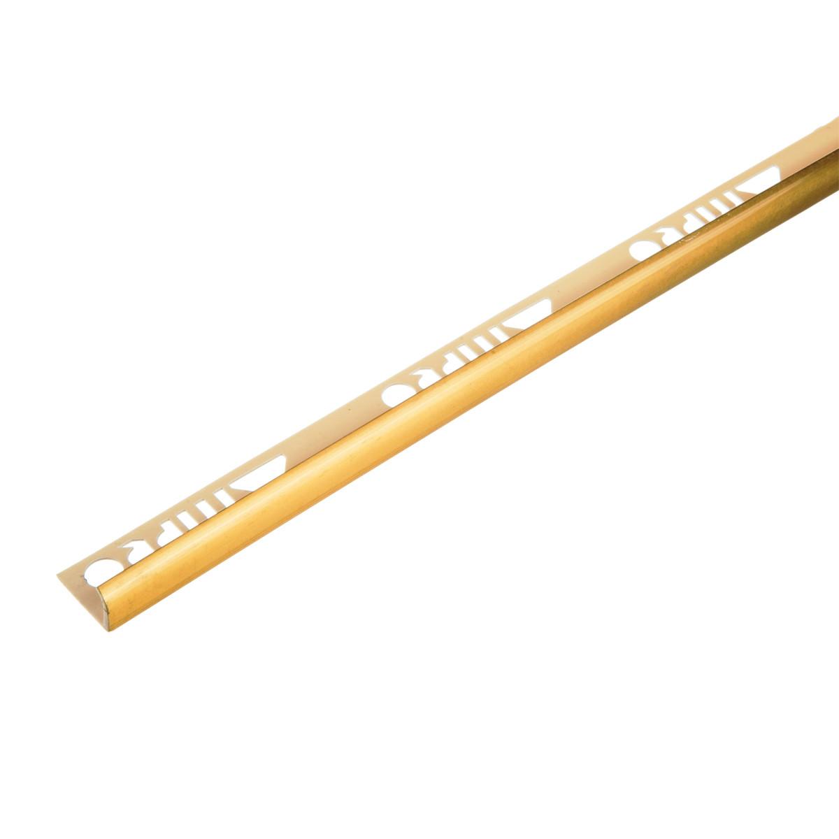 Профиль наружный 109 0.9х270 см цвет золотой