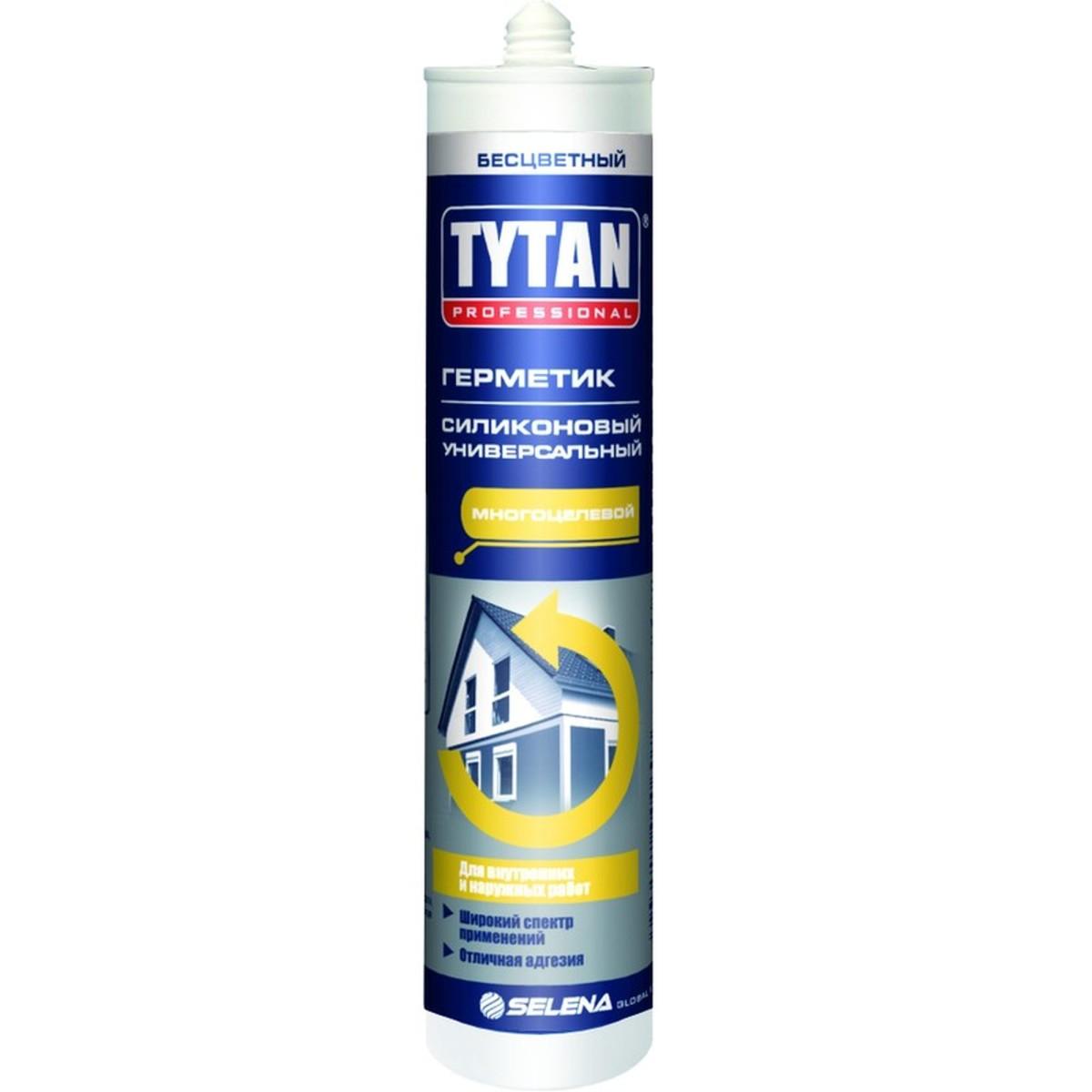 Герметик силиконовый белый Tytan универсальный 310 мл