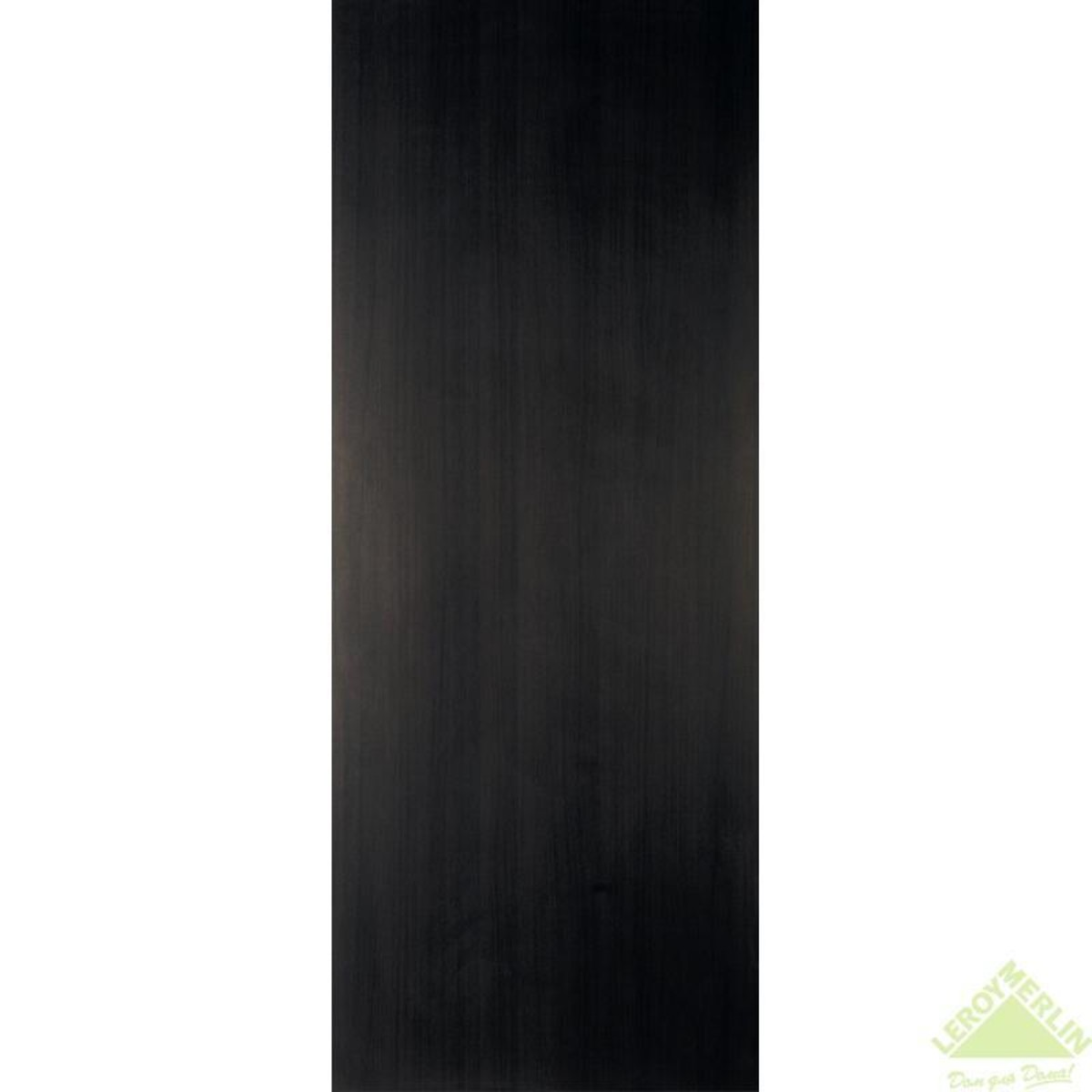 Дверь межкомнатная глухая 60x200 см ламинация цвет венге