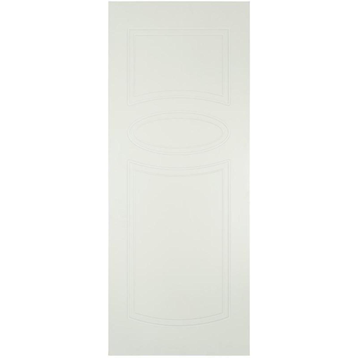 Дверь Межкомнатная Глухая Аккорд 60x200 Эмаль Цвет Белый