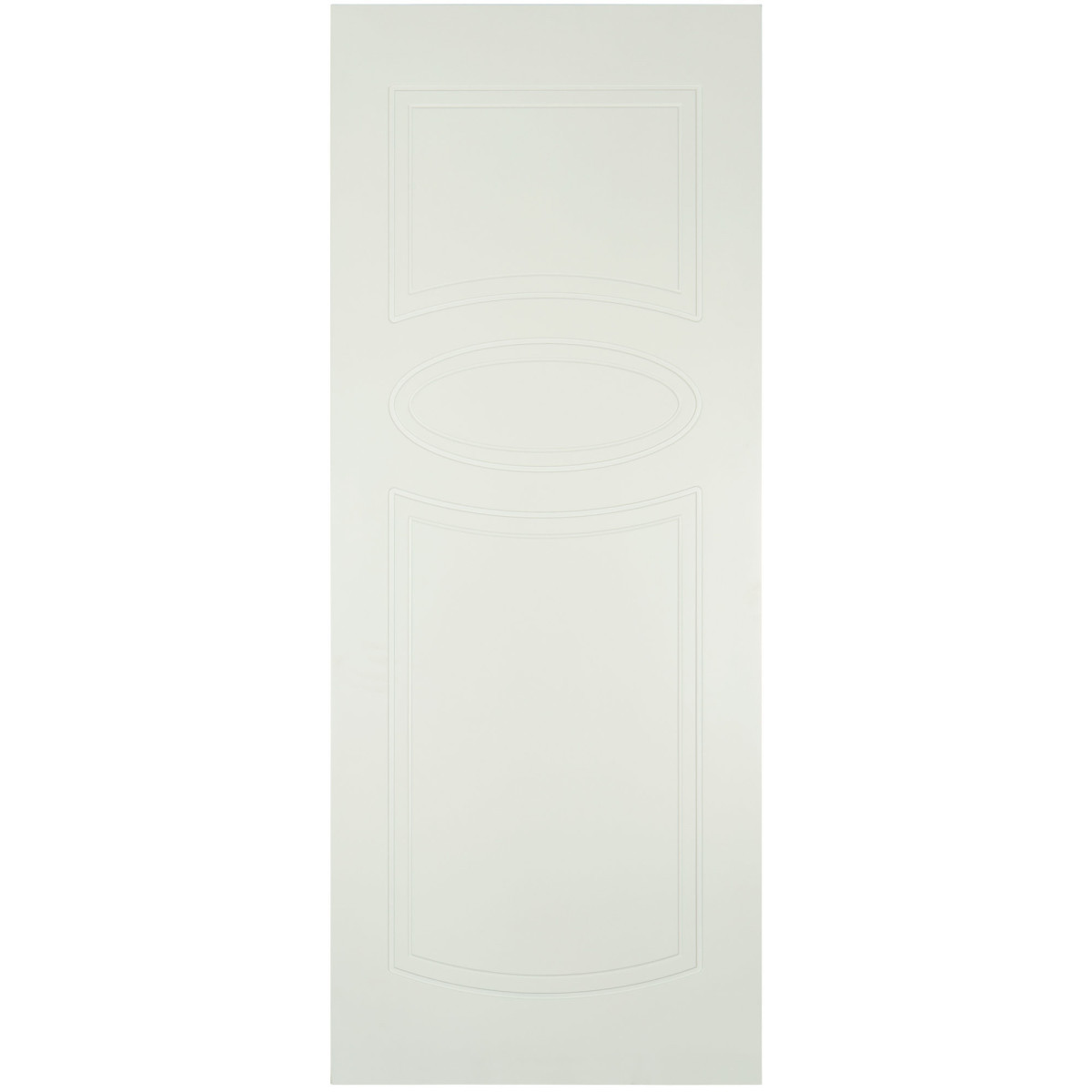 Дверь Межкомнатная Глухая Аккорд 80x200 Эмаль Цвет Белый