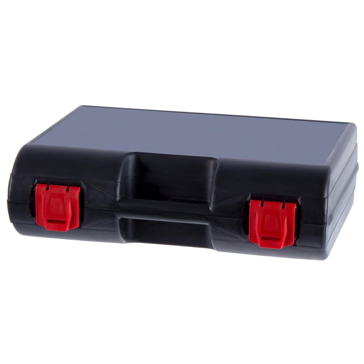 Кейс для электроинструмента Basic 400х120х320 мм пластик цвет чёрный