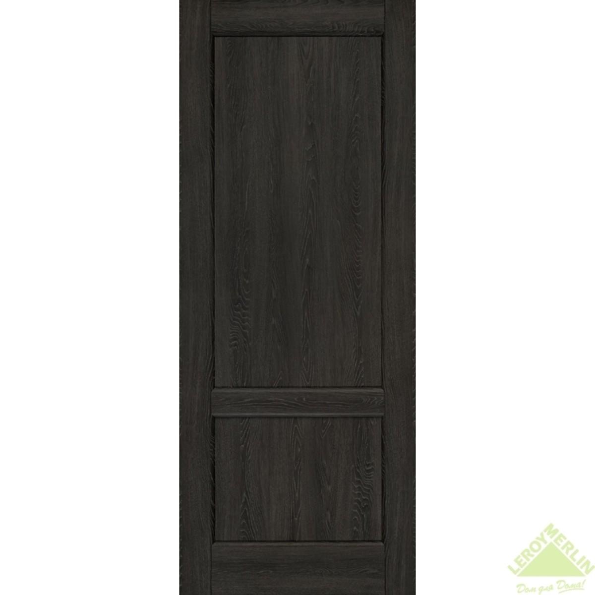 Дверное полотно глухое Палермо CPL 900x2000 мм серый дуб