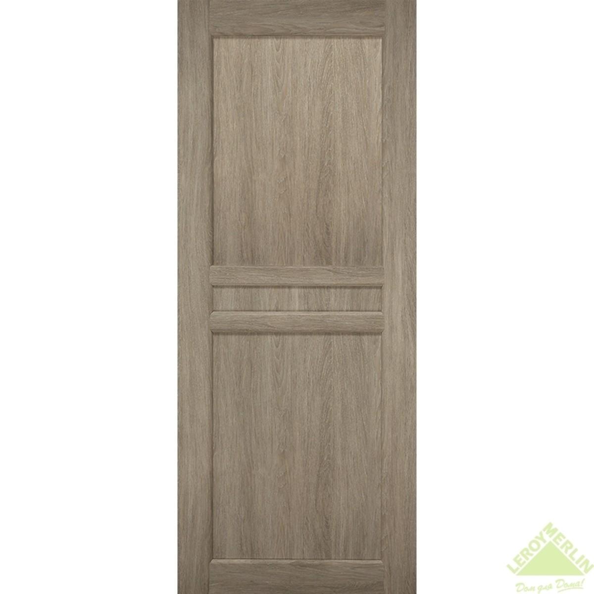 Дверное полотно глухое Элегия CPL 900x2000 мм ясень седой
