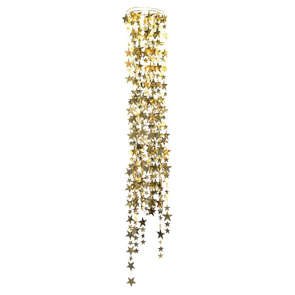Гирлянда «Звездочки золотые» 30x180 см