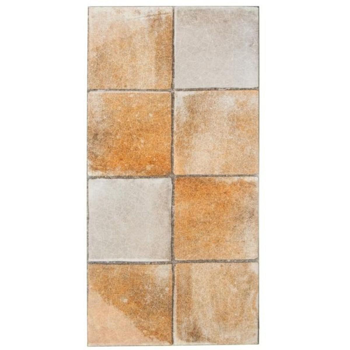 Плитка настенная Лофт 23-740 цвет песочный 20х40 см 128 м2