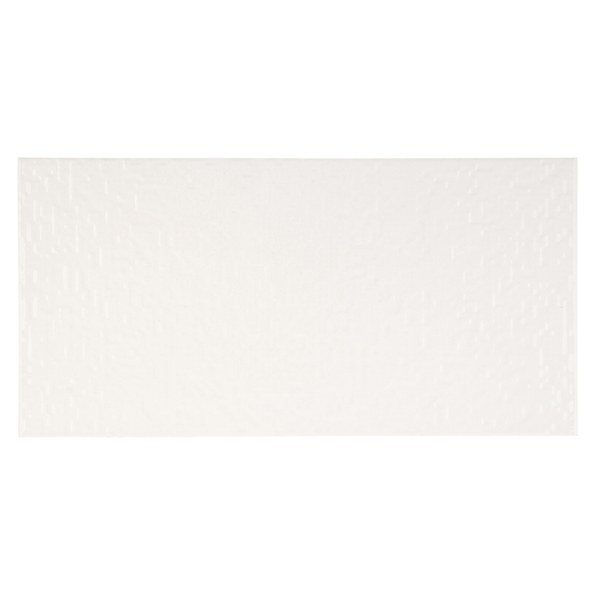 Плитка настенная Фьюжн цвет белый 198х398 см 158 м2