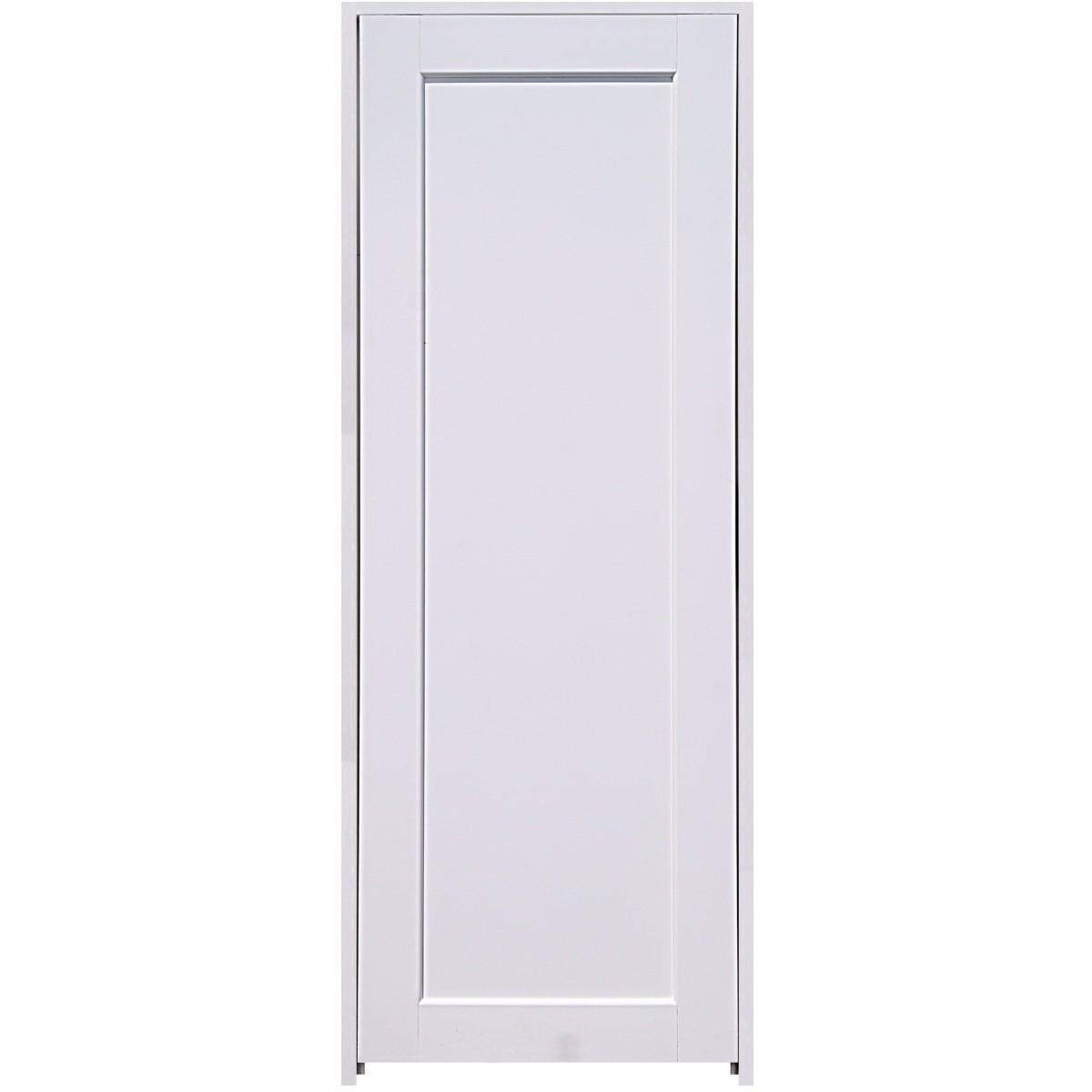 Блок дверной Аквапласт 80x200 см ПВХ с фурнитурой