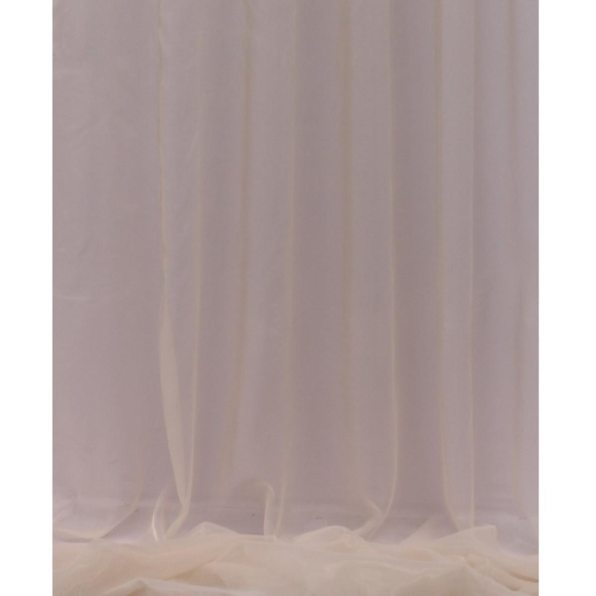 Тюль 1 п/м 280 см полуорганза цвет бежевый