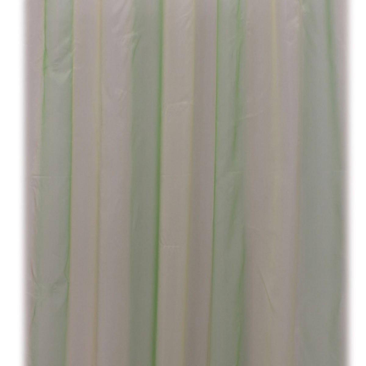 Тюль 1 п/м 280 см полуорганза цвет бежево-салатовый
