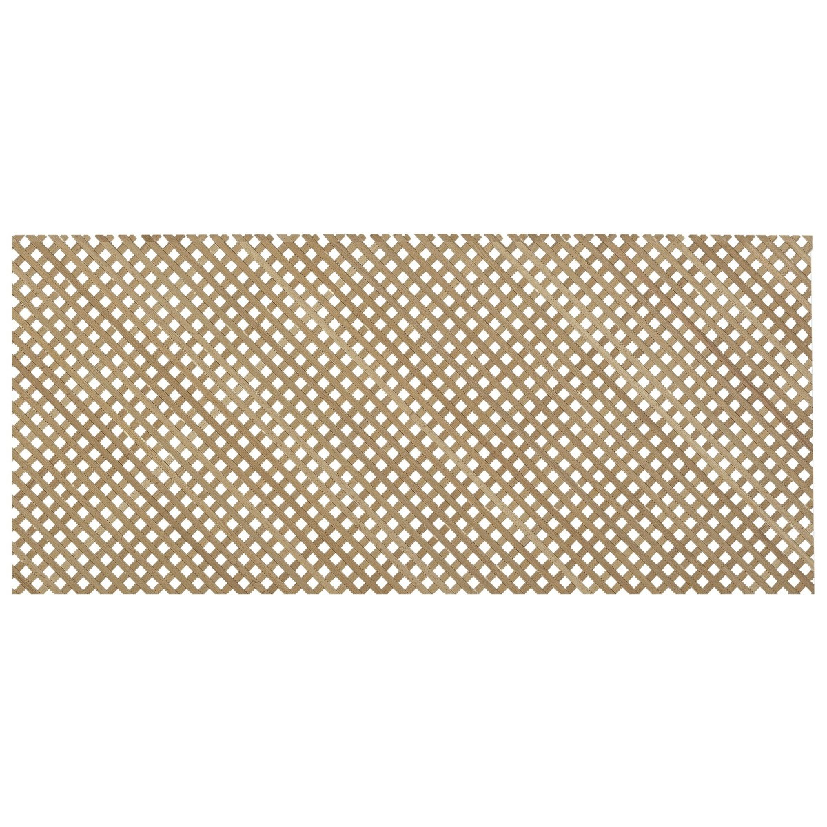 Решетка декоративная 60x200 см цвет бук