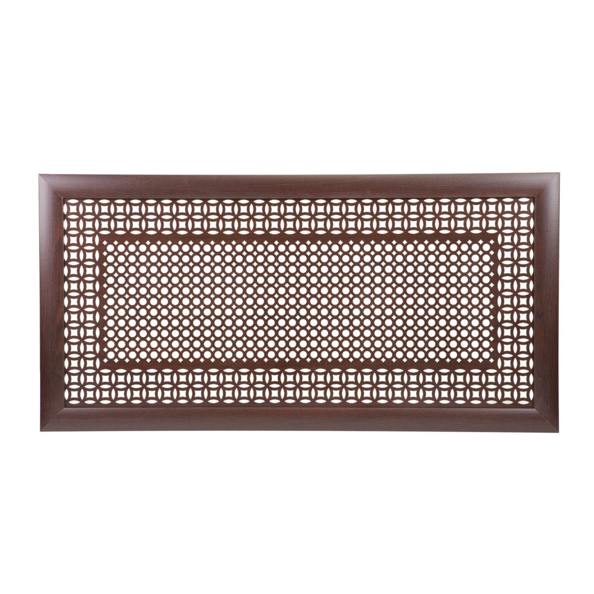 Экран для радиатора Сусана/Цирко 120х60 см цвет венге