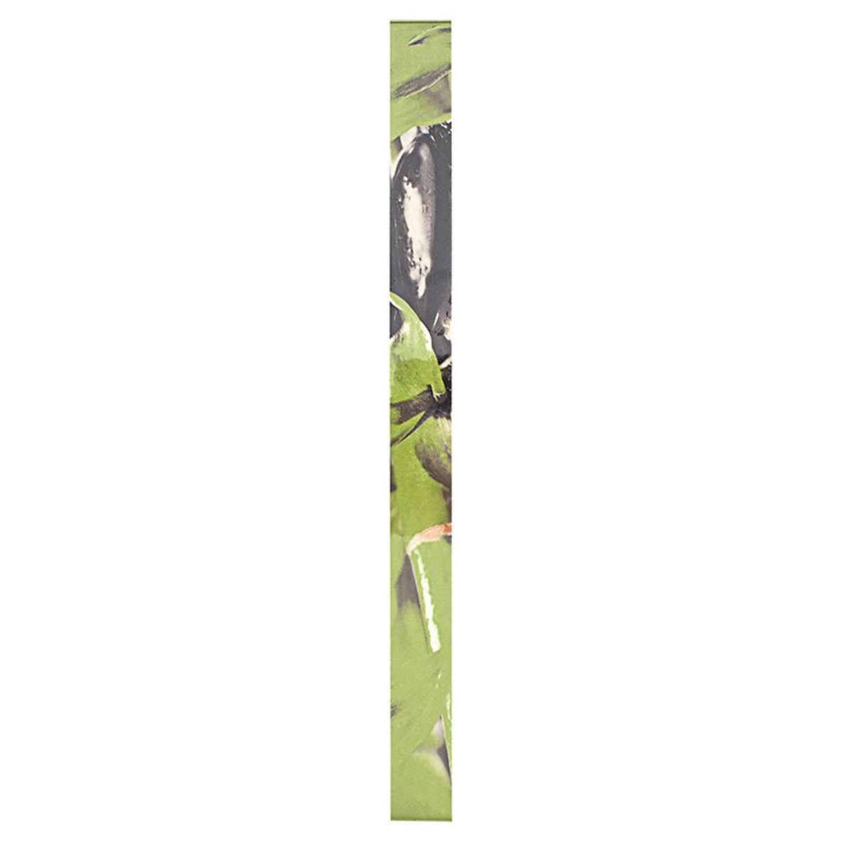 Бордюр Golden Tile «Relax HD» 40х3 см цвет зелёный