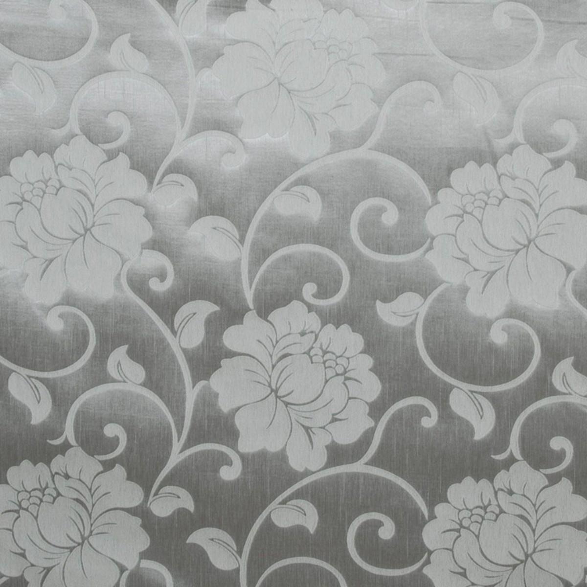 Тюль 1 пог. м с вышивкой БУКЕТИКИ сетка белый 290 см