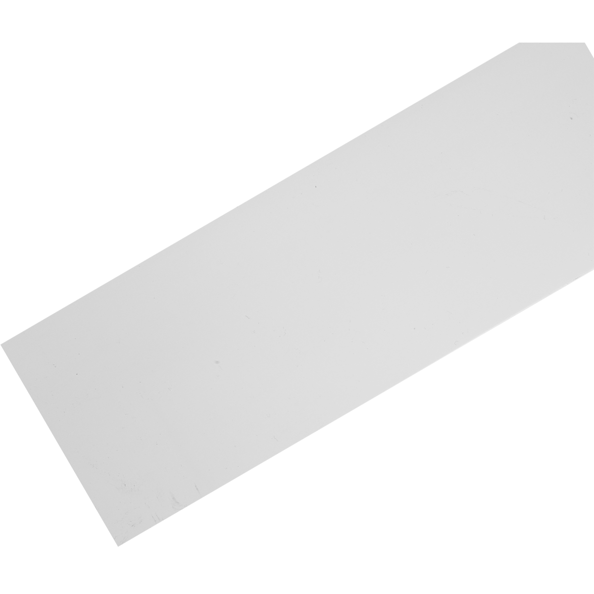 Бленда 75 см пластик цвет белый глянец