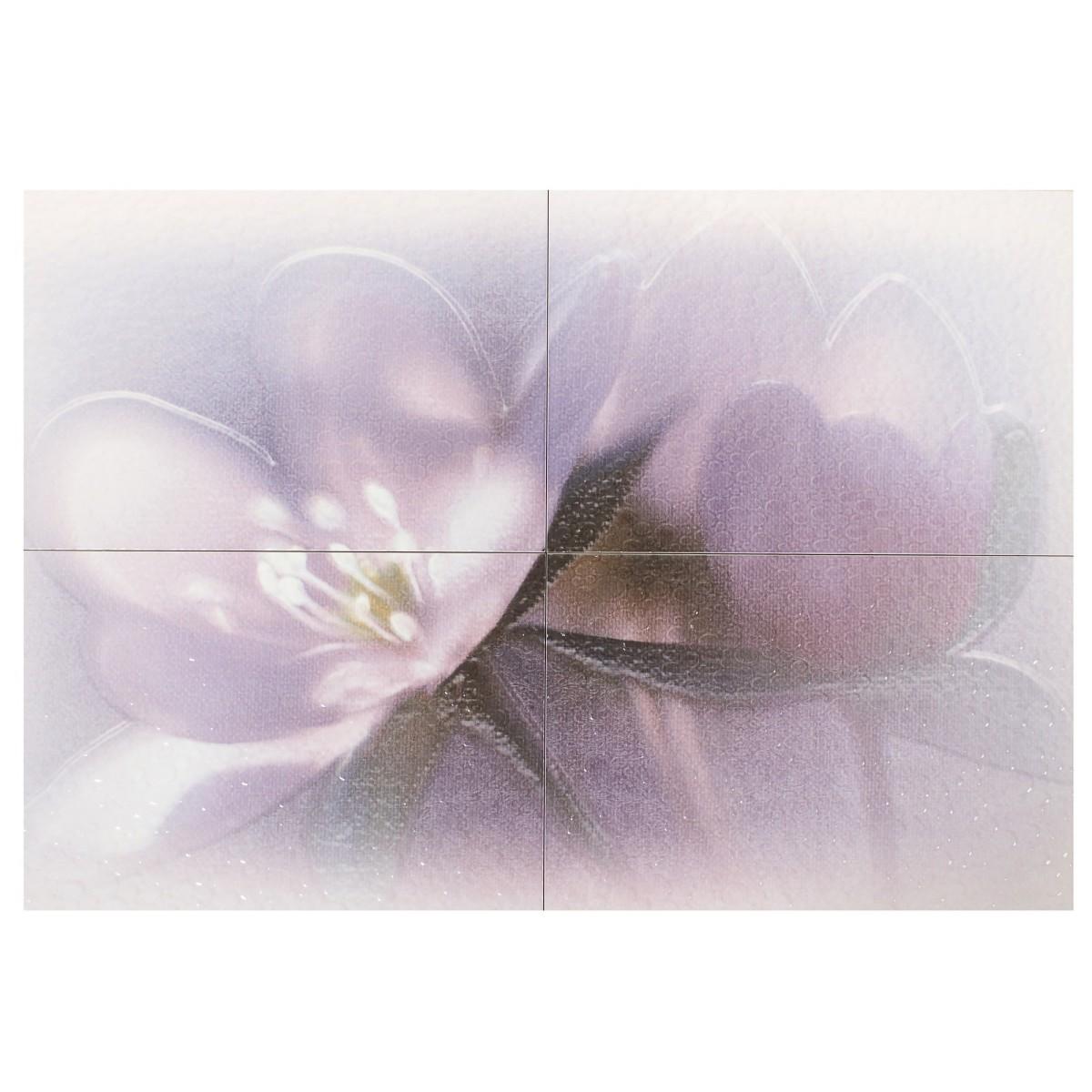 Панно Лила ПН7ЛЛ1 72.8х49.8 см цвет фиолетовый