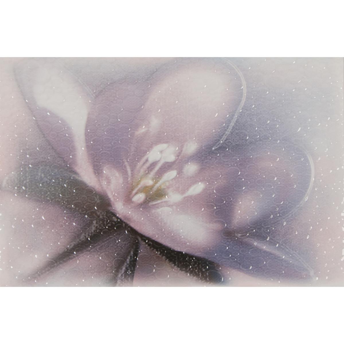 Декор «Лила ВС7ЛЛ023» 36.4х24.9 см цвет фиолетовый