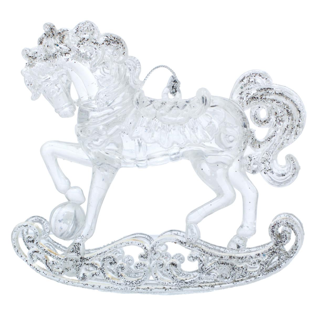 Ёлочное украшение «Лошадка» 10.5 см