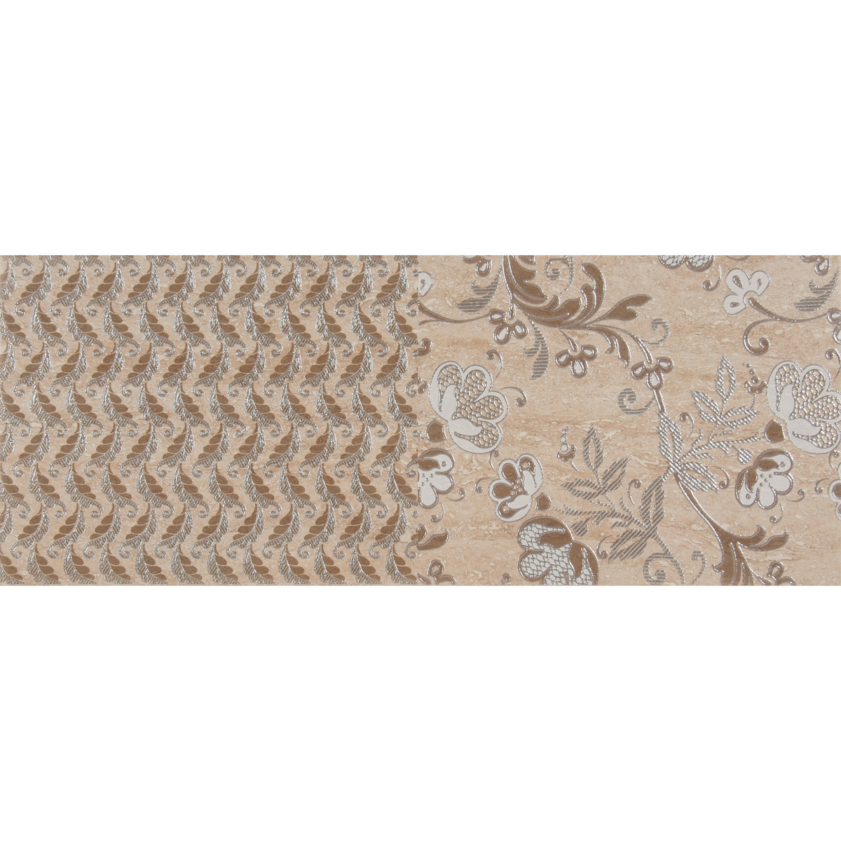 Декор «Marmi Classic 2» 20.1х50.5 см цвет бежевый