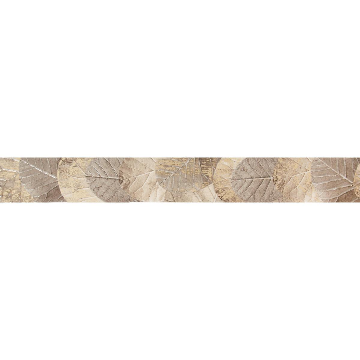 Бордюр «Albero Folglie» 50.5х6.2 см цвет коричневый