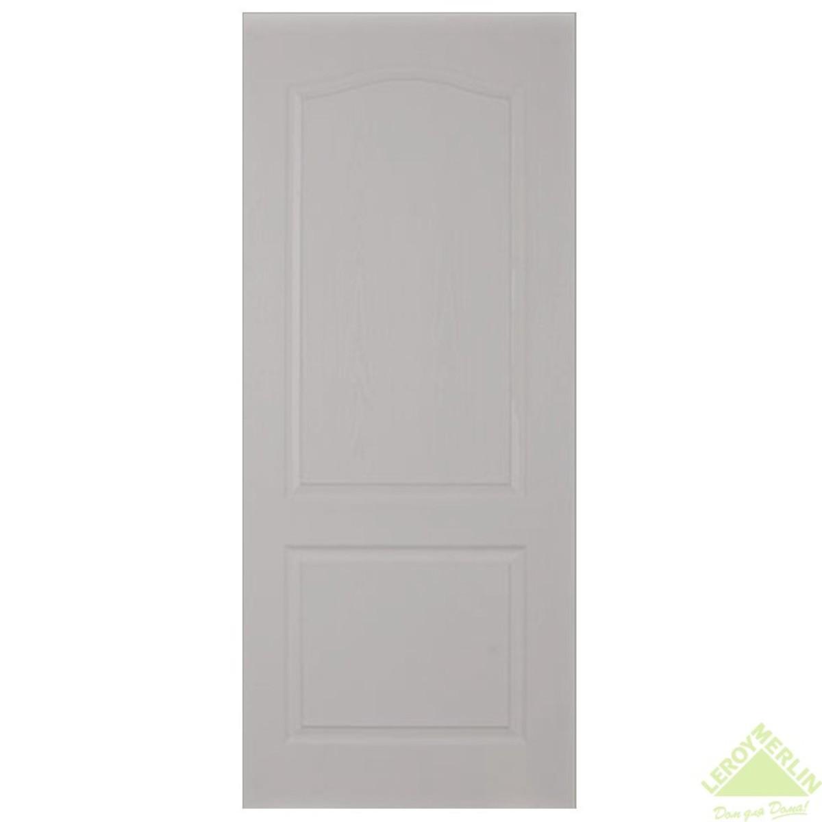 Дверь межкомнатная глухая Палитра 70x200 см ламинация цвет дуб белёный