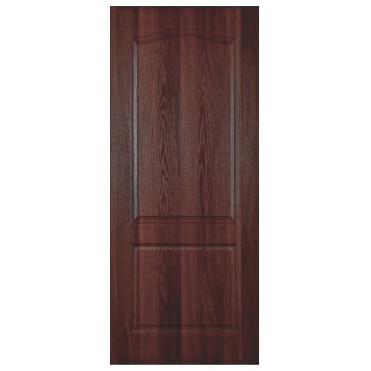 Дверь межкомнатная глухая Палитра 70x200 см ламинация цвет итальянский орех